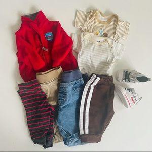 Newborn Boy Clothing Bundle